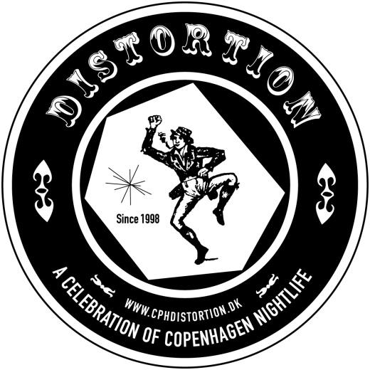 Distortion logo RGB